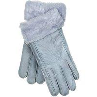 Grey Stitch Womens Sheepskin Gloves