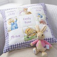 Beatrix Potter Memory Cushion Lilac