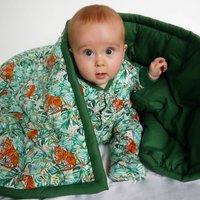Childrens Jungle Quilt