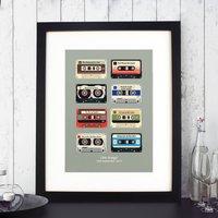 Personalised Memory Tapes Print
