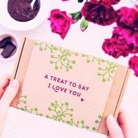 Personalised Love You Body Scrub Gift