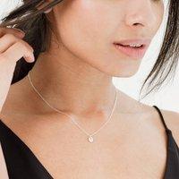 Tiny Disc Necklace