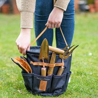Personalised Denim Garden Holdall Tool Bag