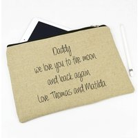 Personalised Daddy We Love You Tablet Case
