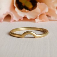 Macha 18ct Fairtrade Gold Ethical Wedding Ring, Gold