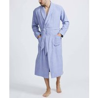 Mens Staffordshire Blue Two Fold Flannel Robe