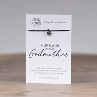 Little Wish 'Godmother' Heart Wish Bracelet