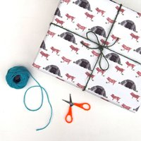 Pig Sty Wrapping Paper