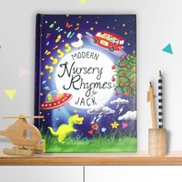 Personalised Book Of Modern Nursery Rhymes