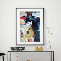 Abstract Fine Art Print Framed Picture