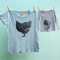 Mummy And Me Twinning Tshirt Tops Hen And Chick