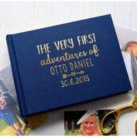 Personalised First Adventures Baby Photo Album