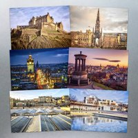 Six Edinburgh Postcards