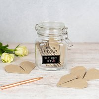 Personalised Date Night Ideas Jar