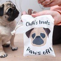 Dog Treat Bag Personalised