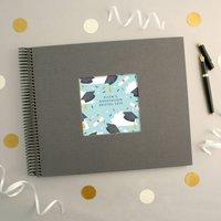 Personalised Graduation Pattern Spiral Bound Book