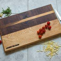 Xl Handmade Tri Wood Serving Board