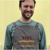 Father's Day Personalised Cooking Apron