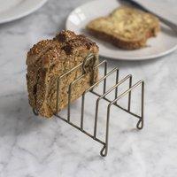 Antique Brass Toast Rack