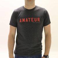'Amateur' Statement Tshirt, grey