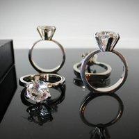 Diamond Ring Shaped Napkin Ring Set