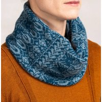 Unisex Soft Wool Snood Tree Pattern