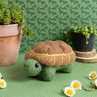 Tortoise Needle Felting Craft Kit