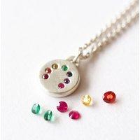 Silver Rainbow Necklace, Silver