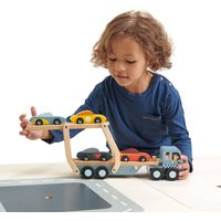 Personalised Classic Wooden Car Transporter
