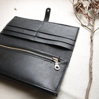 Leather Purse With Matching Stitch