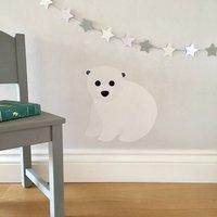 Baby Polar Bear Wall Sticker