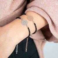 Dreamcatcher Crystal Bracelet, Silver/Yellow/Gold