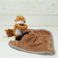 Fox Toy Baby Soother/Comforter Gift Boxed