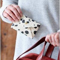 Piñatex Dalmatian Print Card Holder