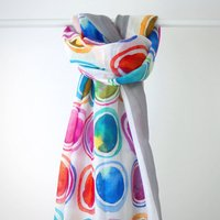 Colourful Art Print Scarf