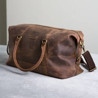 Vintage Leather Somerset Holdall