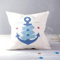 Personalised Nautical Couples Cushion