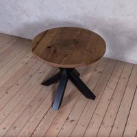 Clyde Ash Solid Wood Round Dining Table
