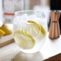 Personalised Name Gin Tumbler