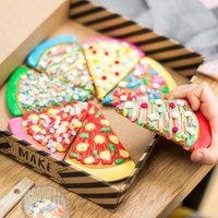 Personalised Pizza Biscuit Baking Kit