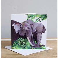 Elephant Love Greetings Card