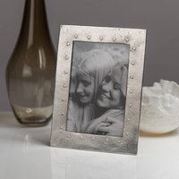 Hearts Cast Pewter Photo Frame