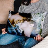 Personalised Large Rectangular Photo Cushion