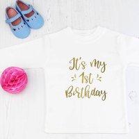 It's My First Birthday T Shirt