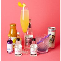 Prosecco, Gin And Shimmer Cocktail Gift Set
