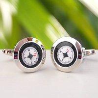 Personalised Compass Cufflinks