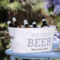 Personalised Ice Cold Beer Bucket