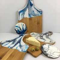 Resin Art, Cheese And Nibbles Serving Board