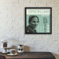 Classic Soul Album Personalised Print