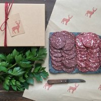 Charcuterie Salami Gift Box